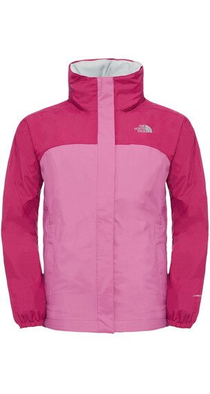 The North Face Girls Resolve Reflective Jacket Roxbrypk/Wstrpr